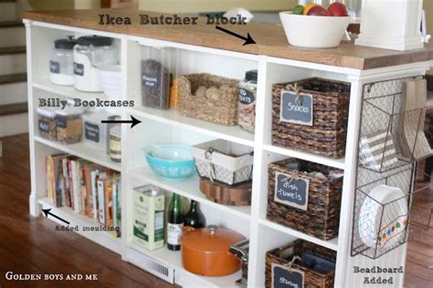 Ikea Billy Bookshelf Turned Into Turning 3 Billy Bookcases Into 1 Beautiful Kitchen Island