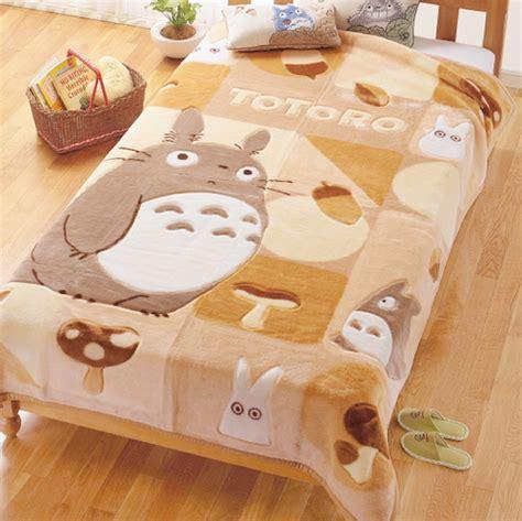 totoro bed sheets bed bedroom cute gibly tonari no totoro image