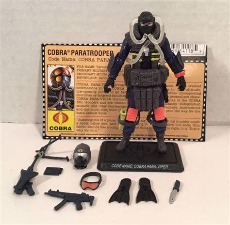 Hasbro Gi Joe Gijoe Cobra Paratrooper 1775 best figures needed images on 1980s figures and cases