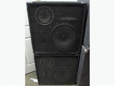 Speaker Split Jbl 3 Way reduced jbl mr835 3 way pa speakers pair west shore