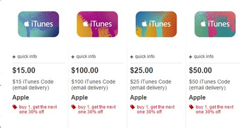 Target Itunes Gift Card Sale - target itunes gift cards buy 1 get 1 at 30 off ftm