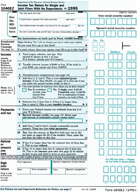 1040a Tax Table by 2016 Form 1040ez Booklet