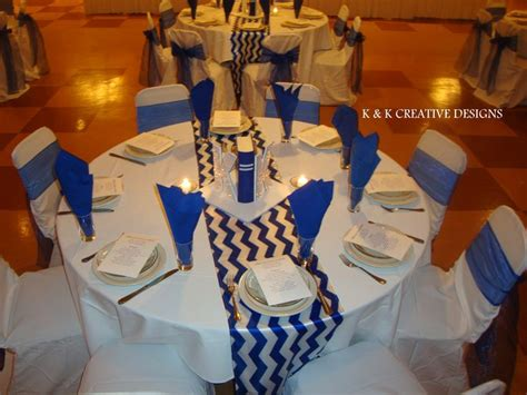 family reunion centerpieces blue white centerpieces high school reunion decor