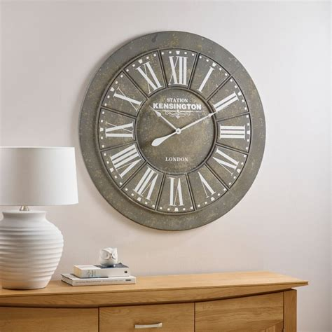 Oak Furniture Land Clocks by Albani Wall Clock By Oak Furniture Land