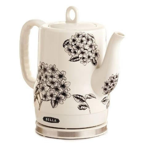 flower pattern kettles bella 13622 electric ceramic kettle flower pattern shop in