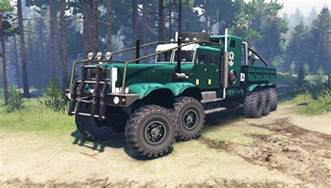 Spin Tires American Truck Kraz 255 Extended Truck Spintires 03 03 16 Newest