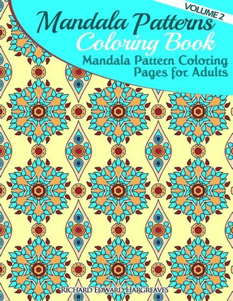mandala coloring books barnes and noble mandala pattern coloring pages for adults mandalas