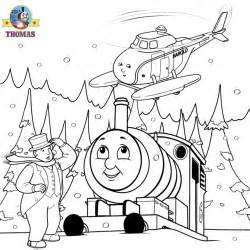 Free christmas coloring pages for kids printable thomas snow pictures