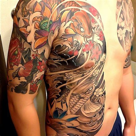 32 beautiful japanese yakuza tattoo designs and images