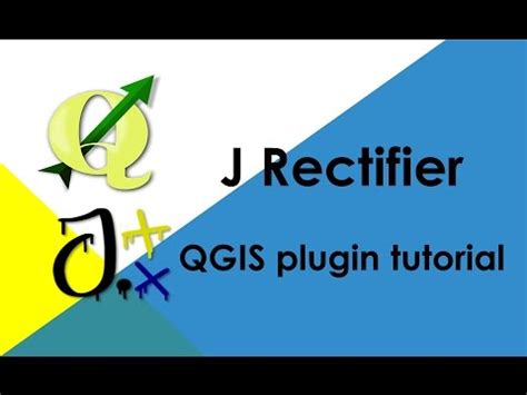 qgis tutorial italiano youtube j rectifier qgis plugin tutorial youtube