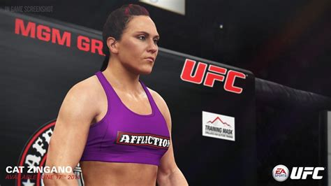 cat alpha zingano mma stats pictures news videos ea sports ufc roster reveal