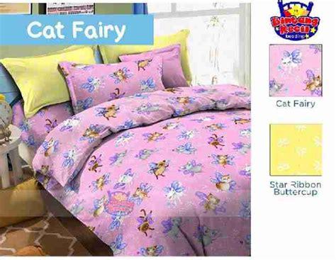 Sprei 160 X 200 Polly Cat Seprei Anak Seprei Katun detail produk sprei dan bedcover cat ungu toko bunda