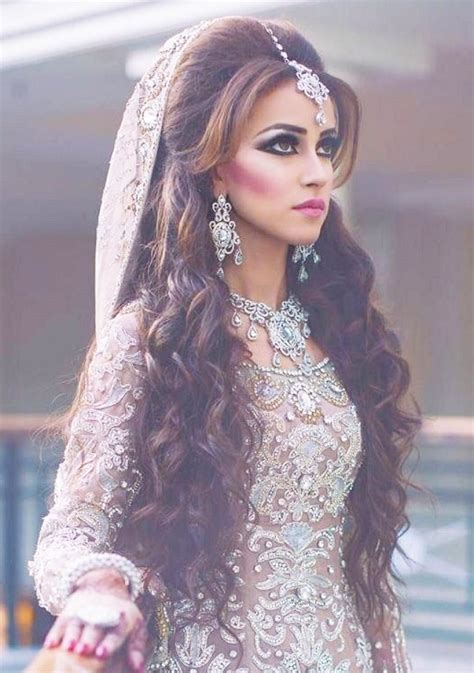 latest wedding hair style for rebonded hair latest pakistani bridal hairstyles 2017 for girlslatest
