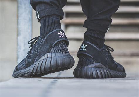 Adidas Tubular Primeknit Black adidas tubular doom primeknit black sneaker bar