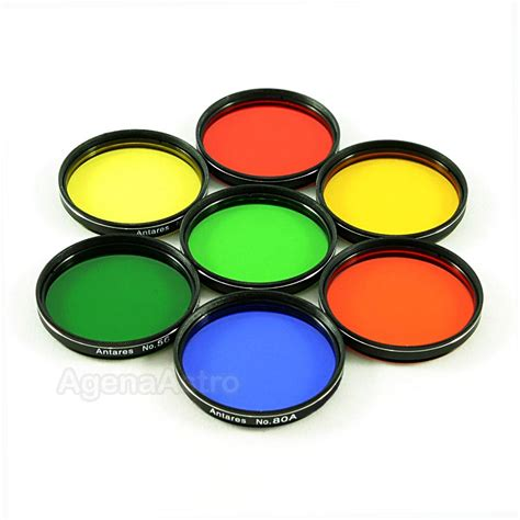color filter antares 2 quot color filters set of 7 filters