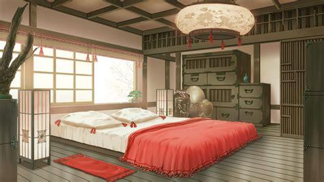anime bedrooms koujaku s room full hd wallpaper and background image