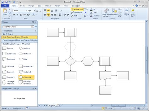 visio for free shift flowchart shapes automatically visio