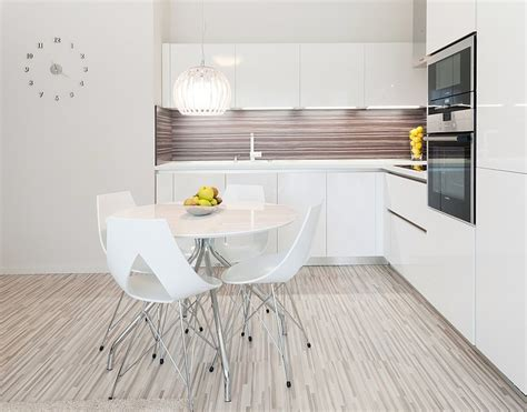 Monochromatic Apartment by Monochromatic Apartment In Bratislava By Goldfish