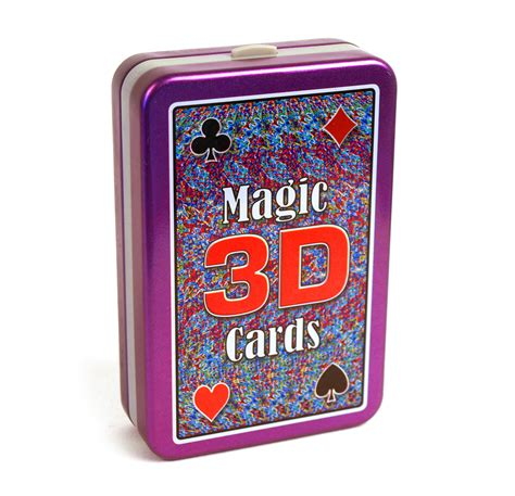 Deck Of Cards Magic Tricks by Bygone Games Magic 3d See Through Trick Playing Cards Fun