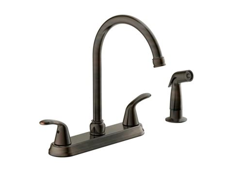 kitchen faucet brushed bronze