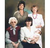 Family Celebrate FIVE Generations Of Females For The