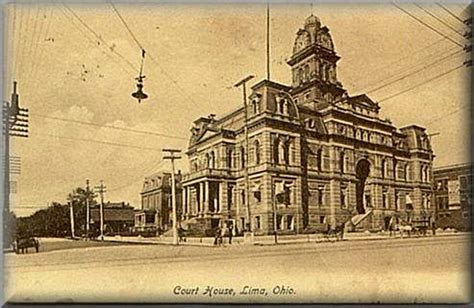 Lima Ohio Records Ohio County Courthouse Project