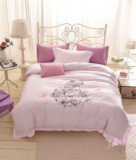 princess bedding set full pink drawing princess bedding set girls bedspreads bed