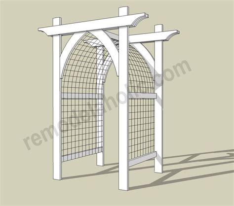 garden arch plans 25 best ideas about garden arbor on pinterest arbors