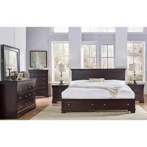 king bedroom set with storage livingston 6 piece king storage bedroom set