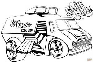 Wheels Truck Coloring Pages Wheels Truck Coloring Page Free Printable