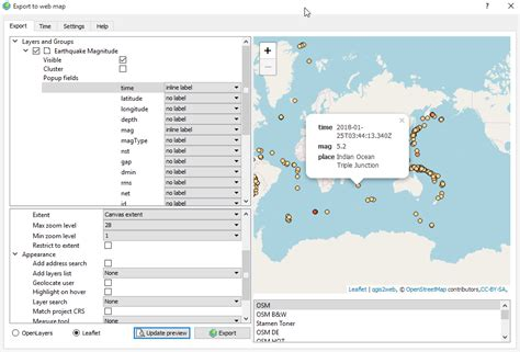 tutorial web mapping web mapping tutorial in qgis geodose