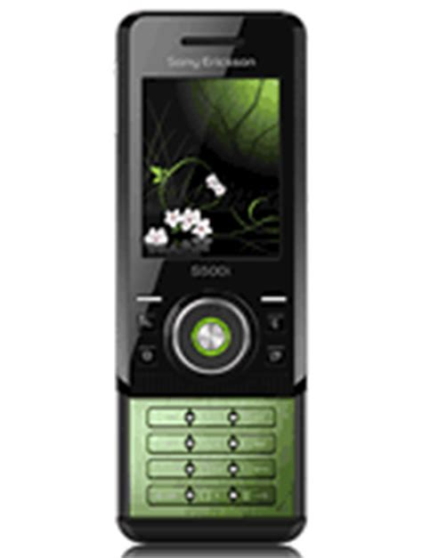 Sony Launch The W580 by Sony Ericsson S500 Phone Specifications