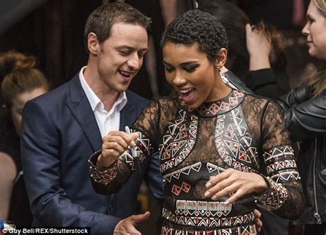 james mcavoy new movie james mcavoy linked to x men s alexandra shipp after