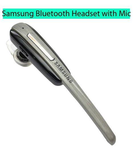 Headset Bluetooth Samsung Hm 7100 Buy Samsung Hm 1000 Bluetooth Headset With Mic Black