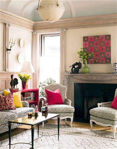 neutral living room with pops of color color theory for your daily life elizabeth gatlin