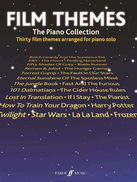 movie themes on keyboard film themes the piano collection sheet music presto
