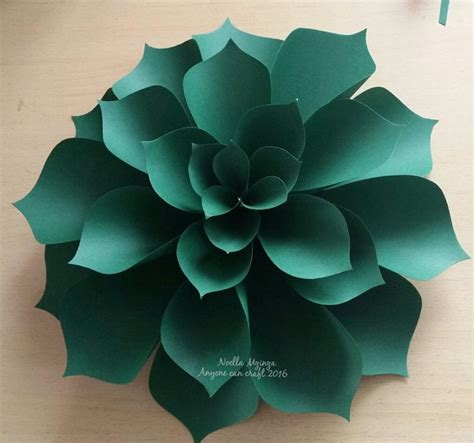 How To Make Paper Flower Petals - large flower petals anyone can craft