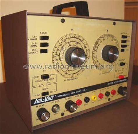 Alternating Current Machines Af Puchstein rf af generator aa779 equipment lab volt farmingdale nj b