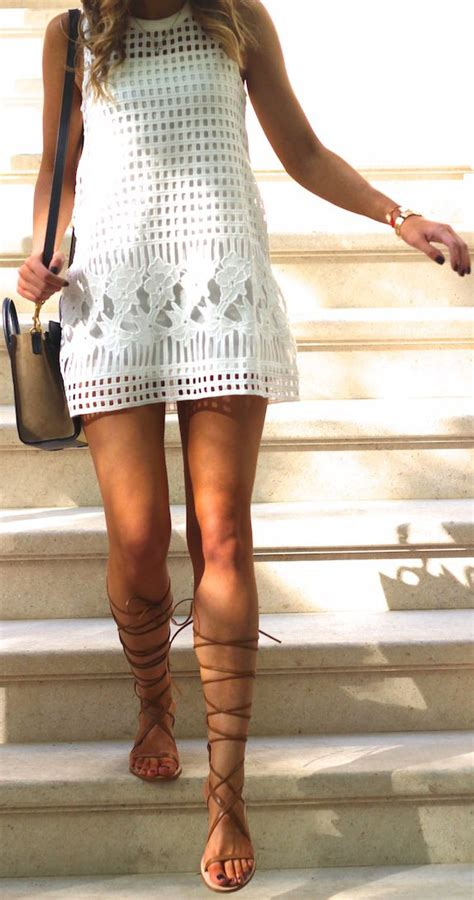 how to style sandals lace up gladiator shoes fashion sommer
