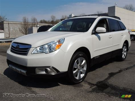 subaru outback white 2011 subaru outback 3 6r limited wagon in satin white