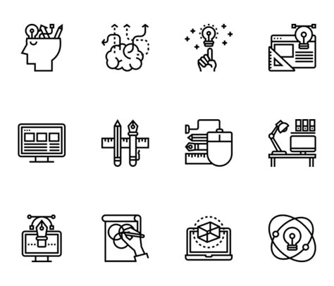 design thinking icon free vector icons svg psd png eps icon font