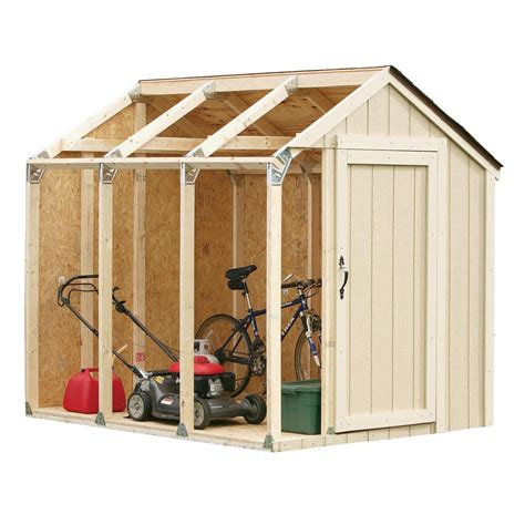 diy shed kit home depot shed kit with peak roof 90192 the home depot