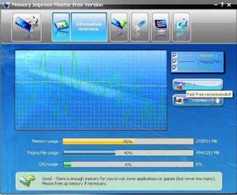 Memory Buat Pc memory improve master free soft percepat kerja proses