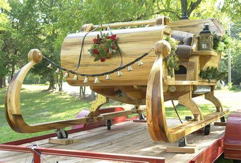 building santas sleigh