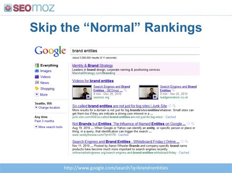 skip the normal rankings http www search q