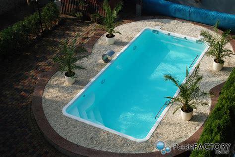 garten pool gfk ozzy 2 85 gfk schwimmbecken fertigbecken einbaubecken