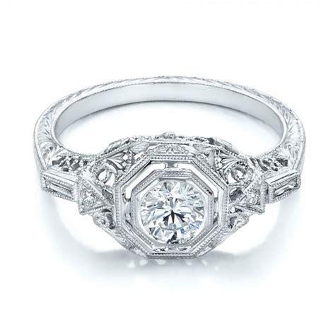 Handmade Diamonds - custom engagement ring 102219