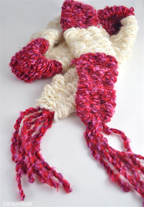 how to make a scarf without knitting easy knitting with big straws for