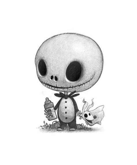 Imágenes De Jack La Calavera | baby jack and zero art pictures and other awesomes