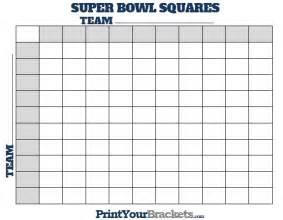 Bowl Football Office Pool Printable Superbowl Squares Gameshacksfree